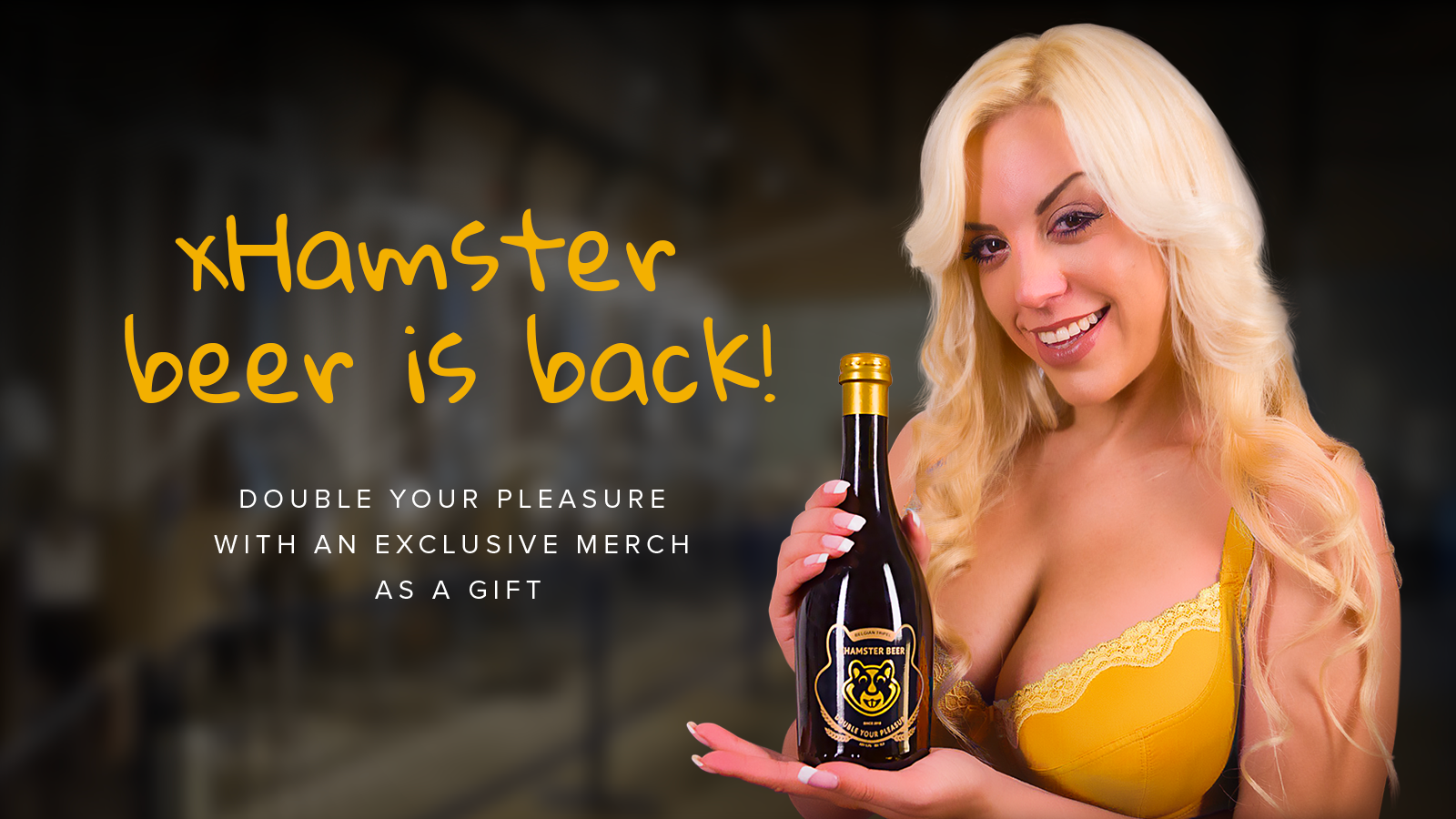 xhamster beer is back!